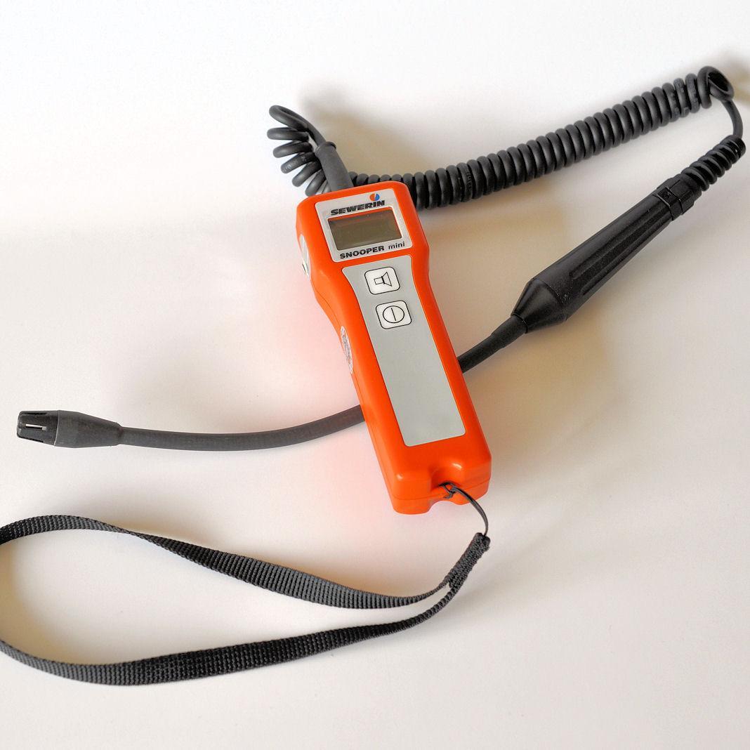 Detektor gazu Snooper do wykrywania nieszczelności gazowych (CH4)